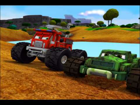 Meteor and the mighty monster trucks videos