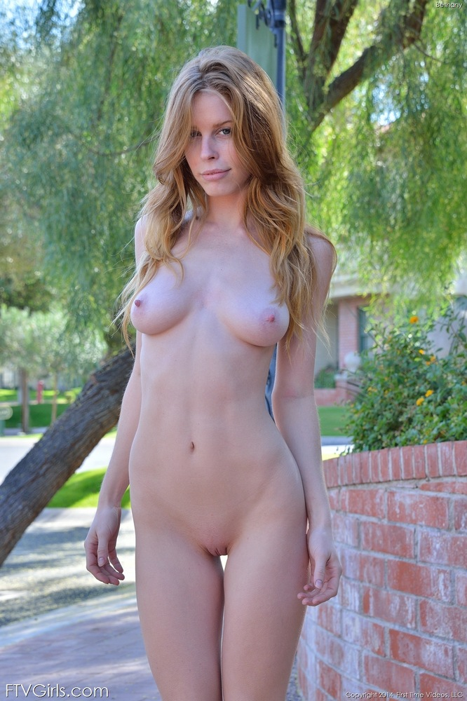 Redhead bethany with nude