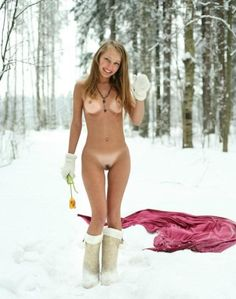 Nude in snow pictures