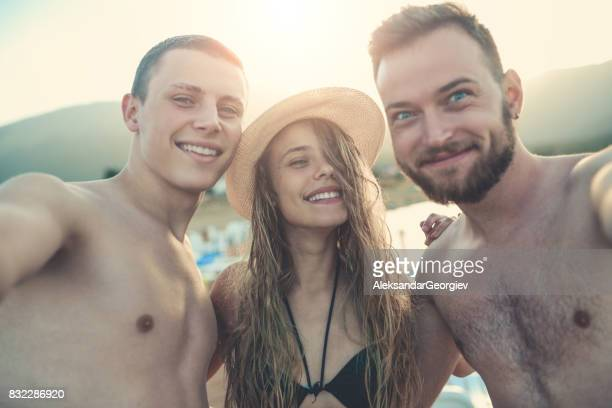 Free nude brother sister pics on beach