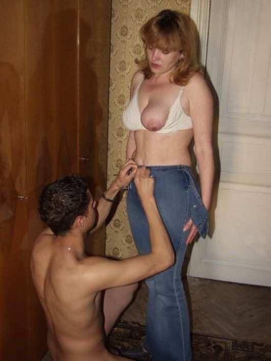 Porno amateur real mother and son